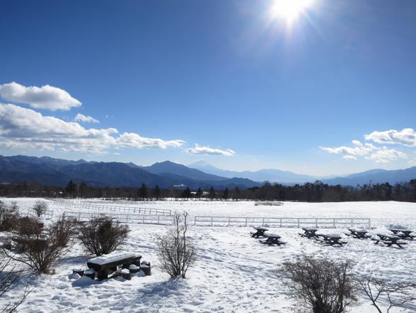 清泉寮の雪景色