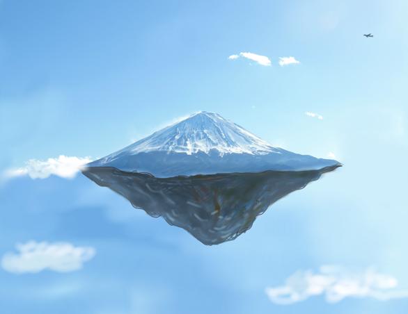 浮遊大陸 富士山