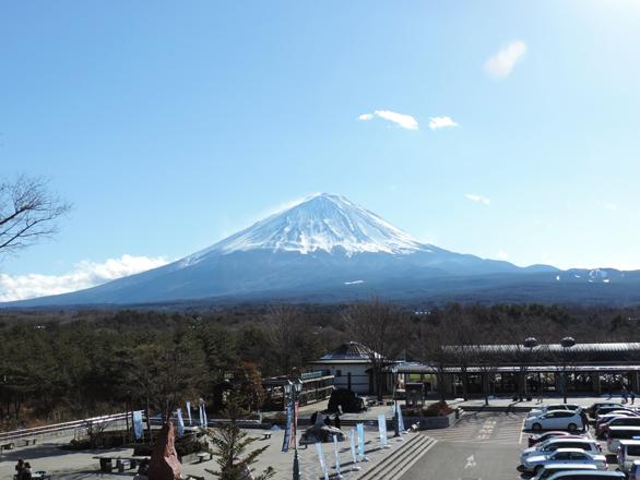 富士山 道の駅なるさわ
