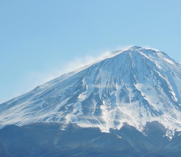 富士山 ズーム 道の駅なるさわ