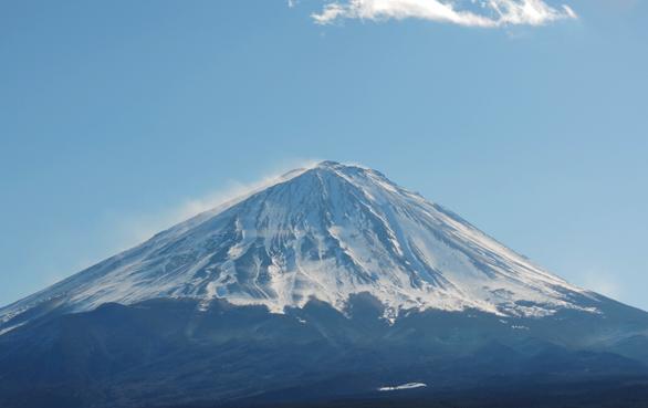 富士山 ズーム0 道の駅なるさわ