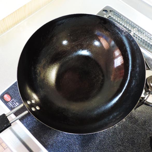 中華鍋 お手入れ完了