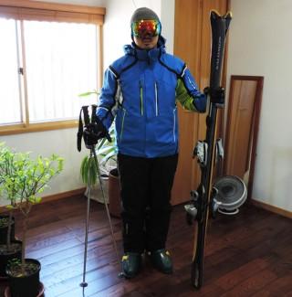 スキーに行く準備、張り切りすぎに注意!