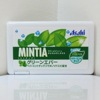 【レビュー】ミンティア グリーンエバー ペパーミントとハーブの香り