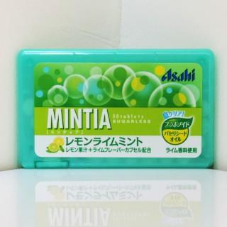 【レビュー】ミンティア レモンライムミント レモン果汁とライムの味
