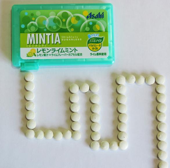 ミンティア レモンライムミント