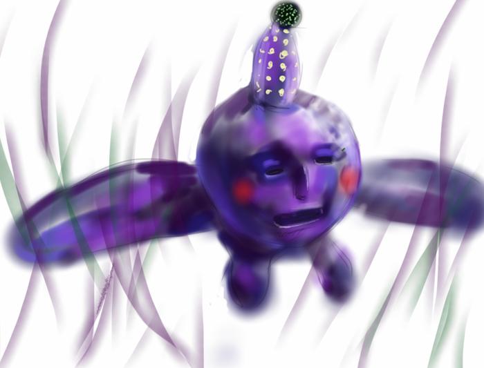 空飛ぶ謎の生き物