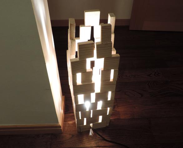 間接照明「ビル」