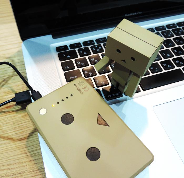 ダンボーバッテリー Macから充電