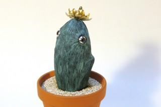 「Hatchy」鉢植えのサボテンみたいな生き物