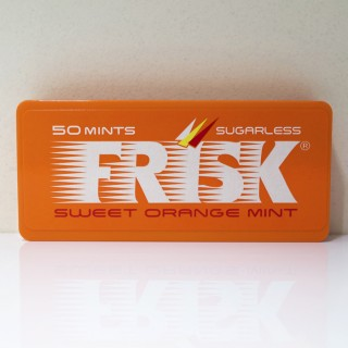 【レビュー】フリスクスイートオレンジミント 無果汁のジュースみたいな味