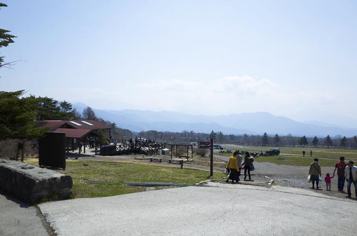 春の清泉寮