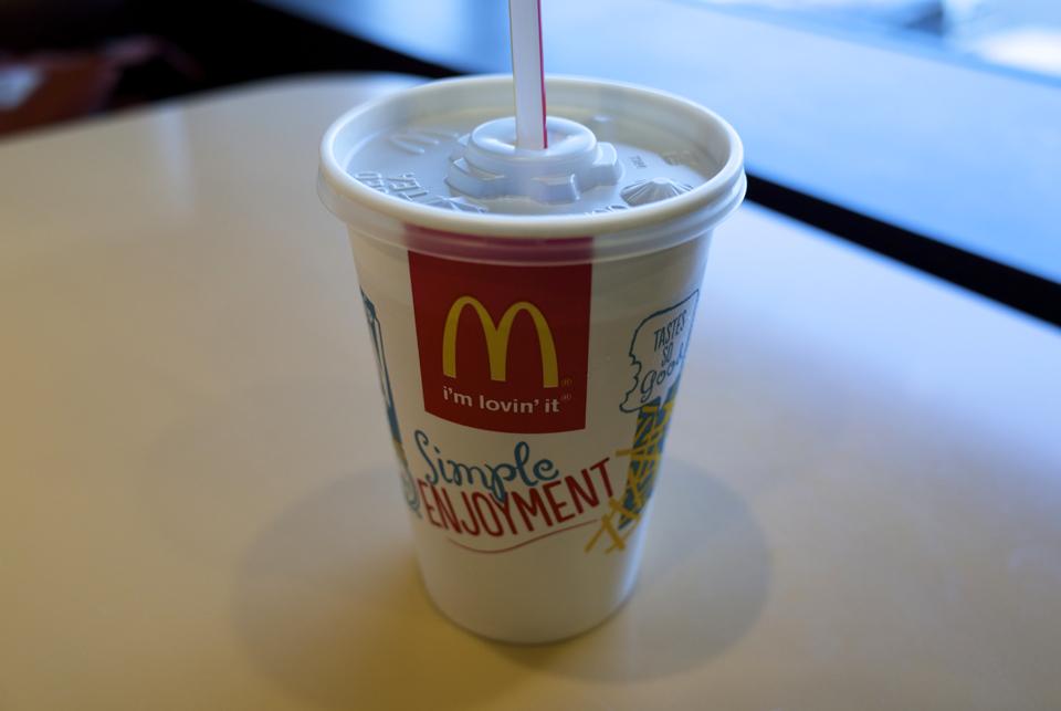 マックのコカ・コーラ