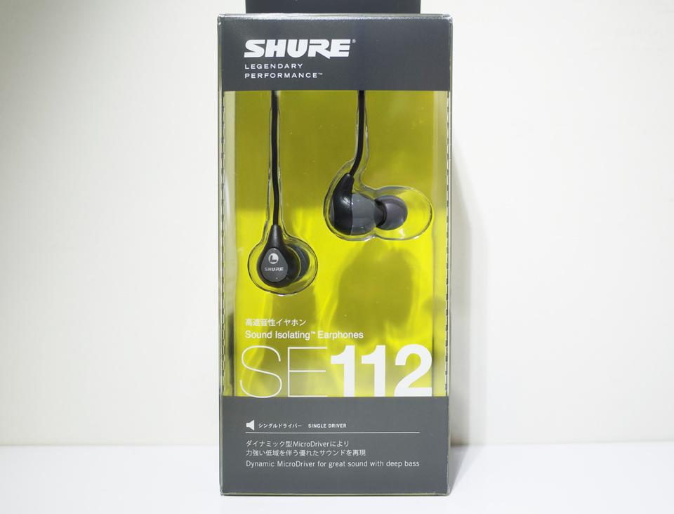 SHURE「SE112」