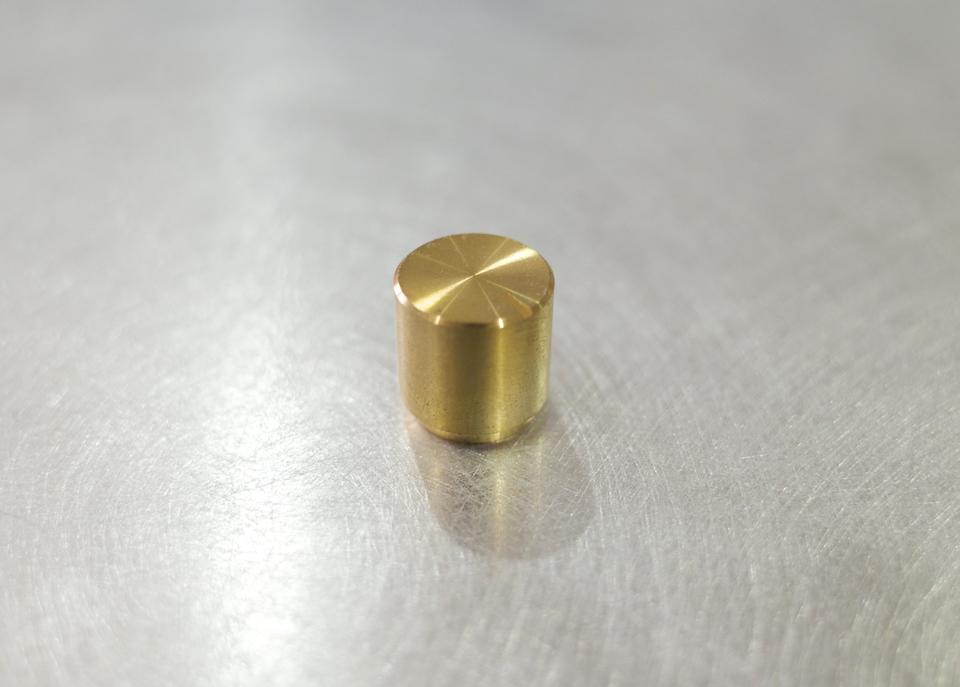 MHaudio 真鍮製ツマミ