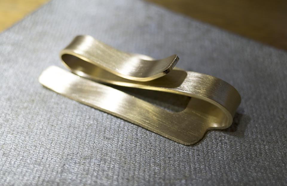 真鍮製クリップ 完成