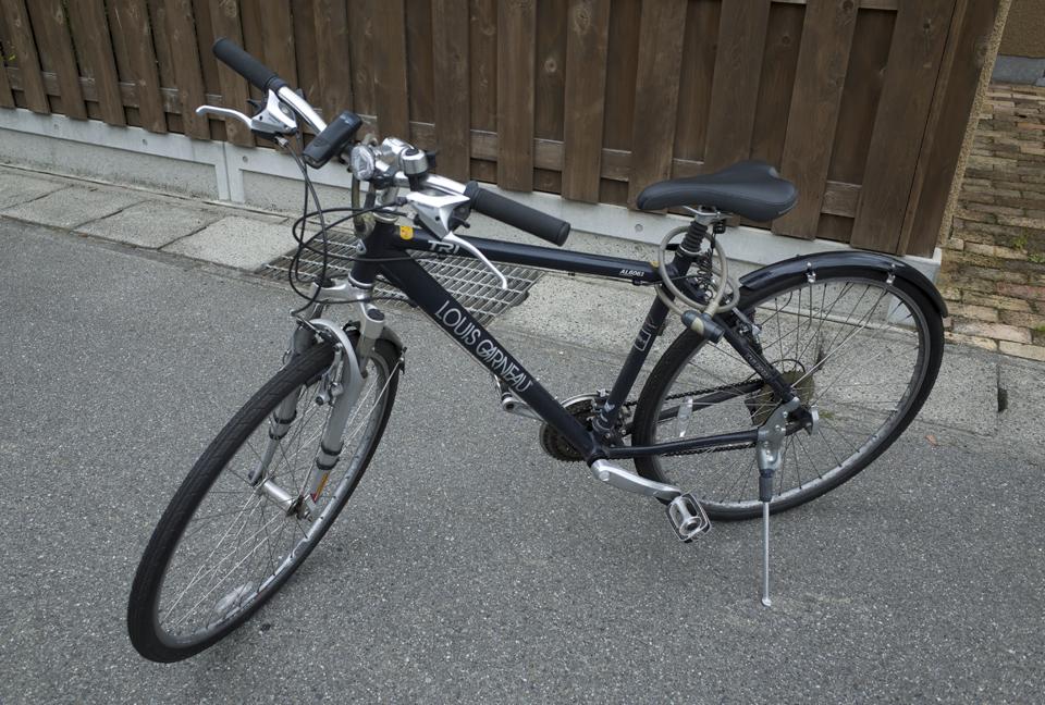 ルイガノの自転車