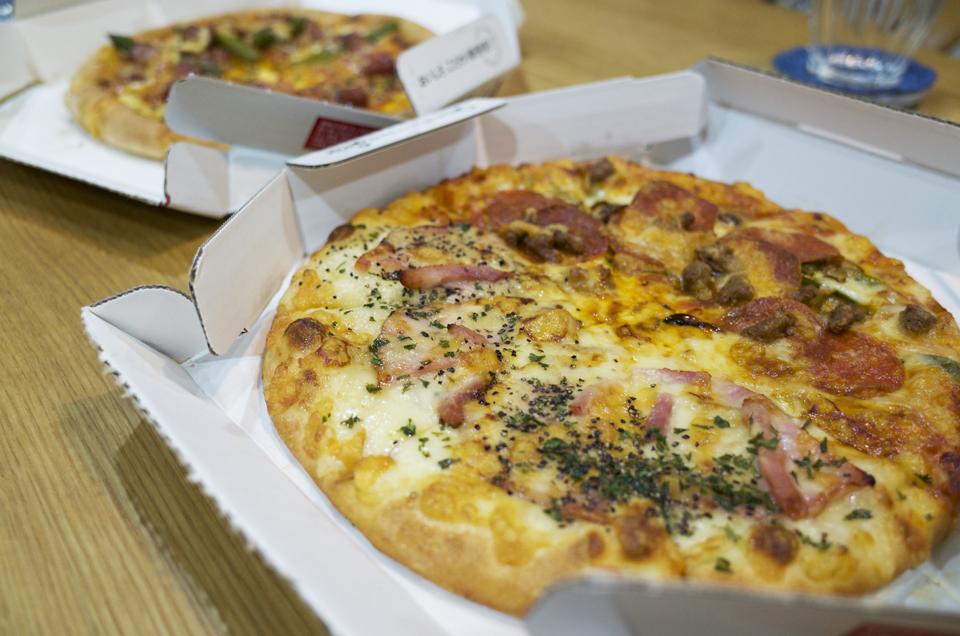 ピザーラのピザ×2