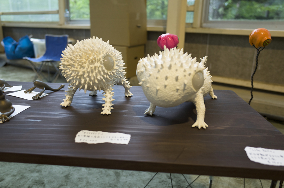 2014年 清水高原アートピクニック 三木展示