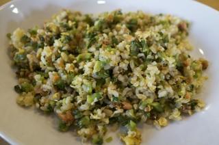 ゴーヤと鮭と卵の炒飯を作ってみたらおいしくて感動した
