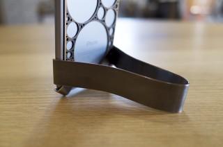 【真鍮製クリップタイプ】iPhone(スマホ)用スタンドを作ってみた