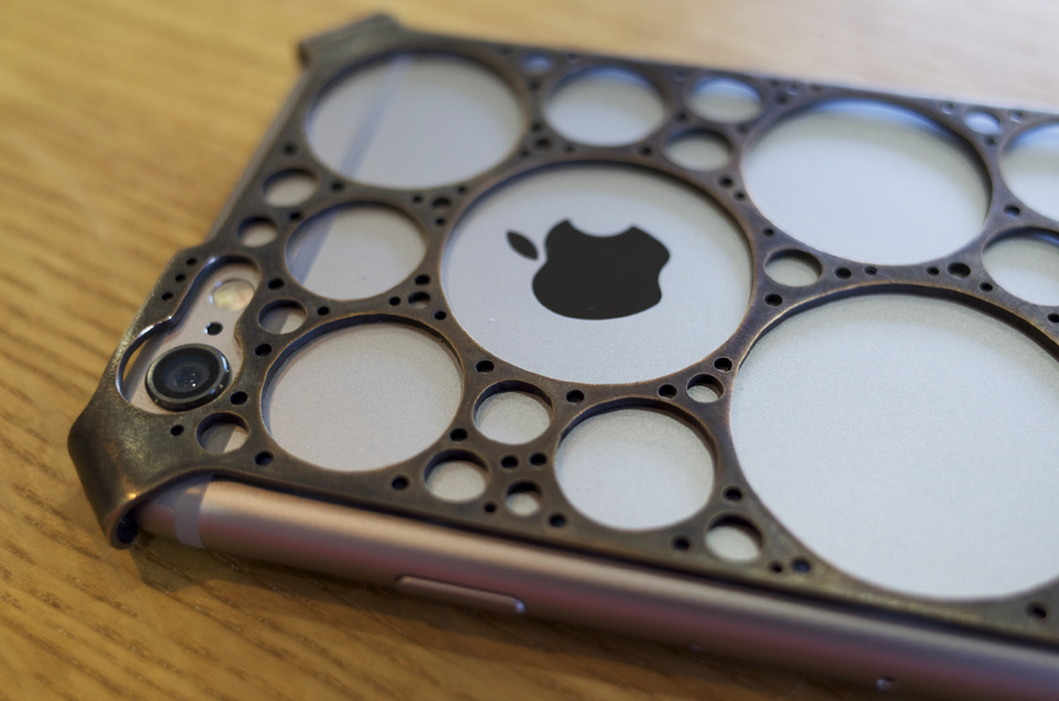 自作 真鍮製iPhone6ケース