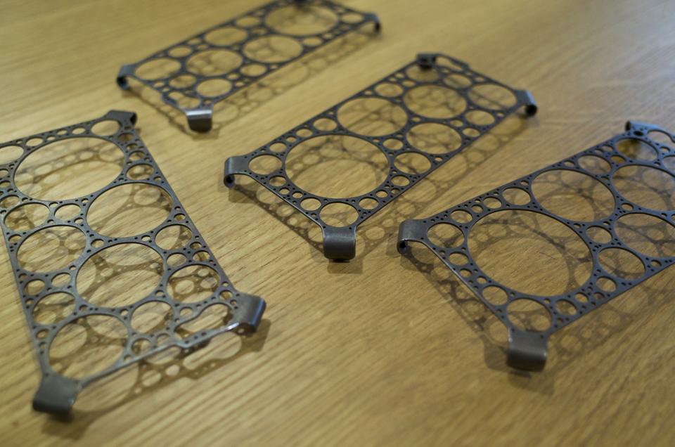 真鍮製iPhone6用ケース 完成