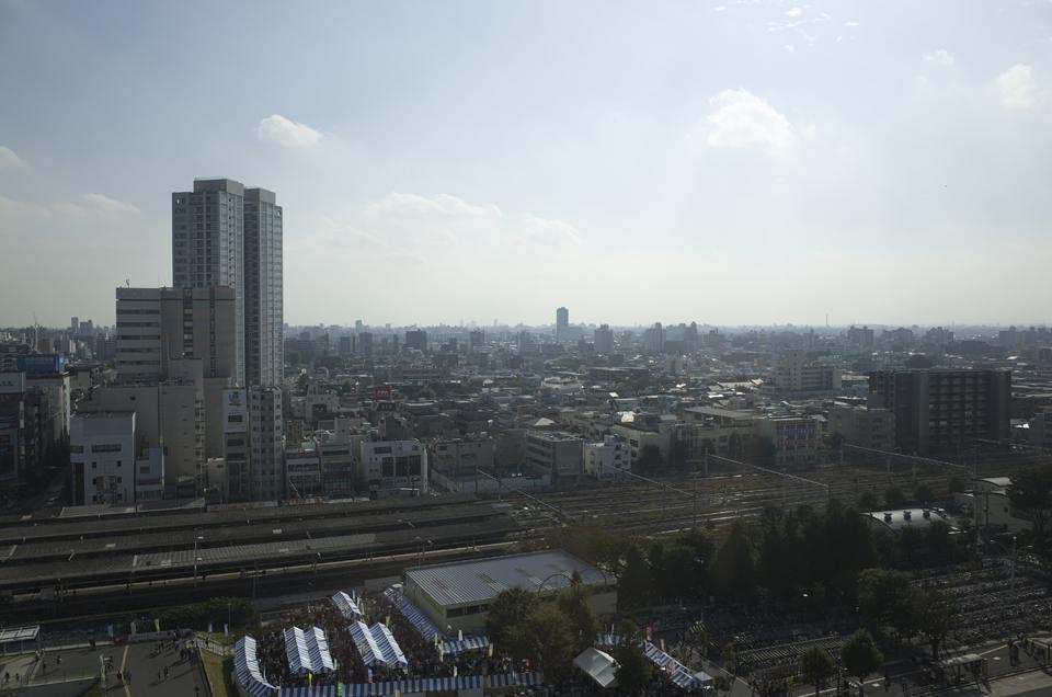 中野サンプラザからの風景