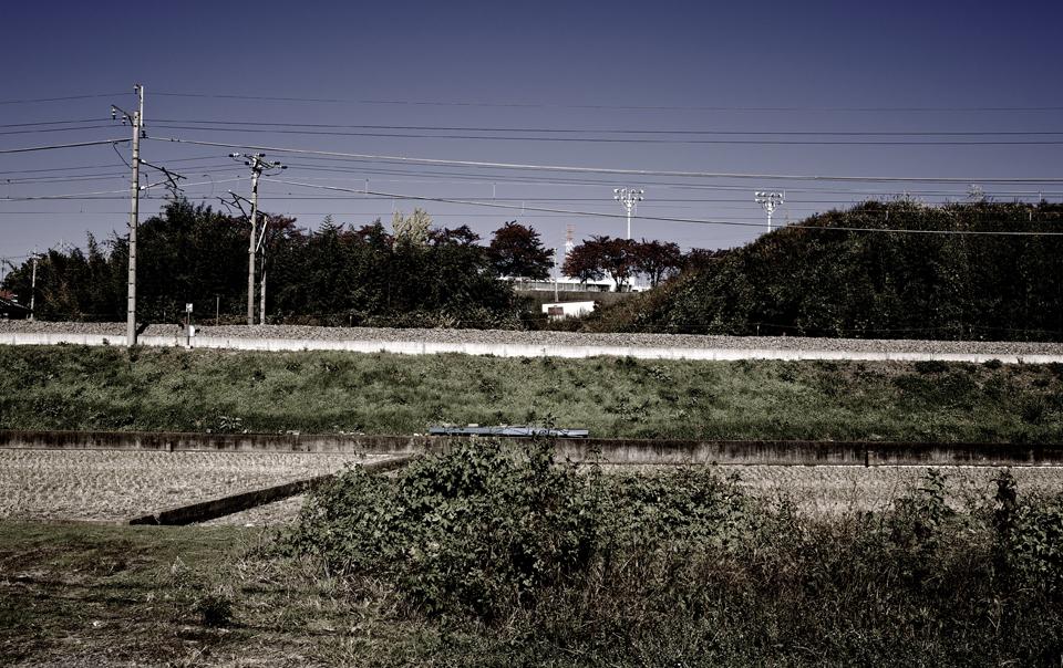 線路のある風景