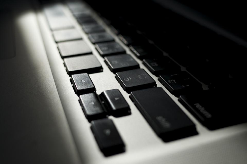 Mac Book Proのキーボード