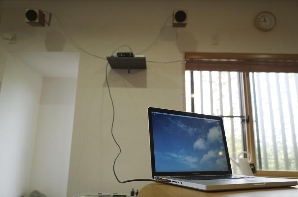 USBケーブルでMacから再生