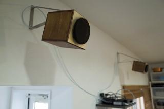 【MHaudio】WAONを天井近くの壁面に設置してAirPlayで楽しむ
