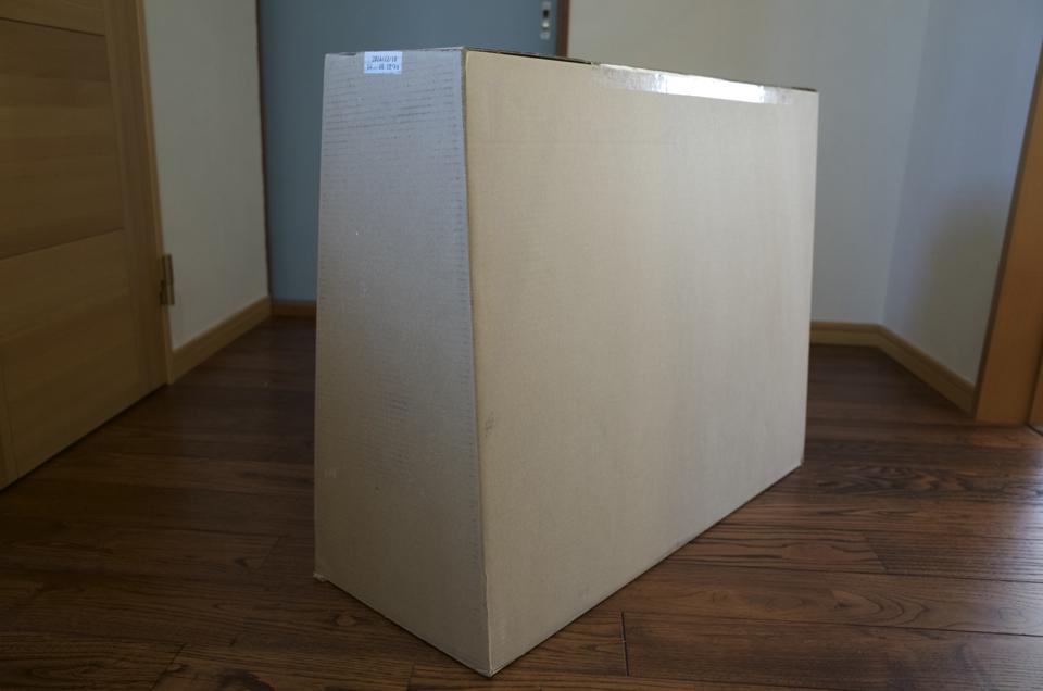 iMacの梱包