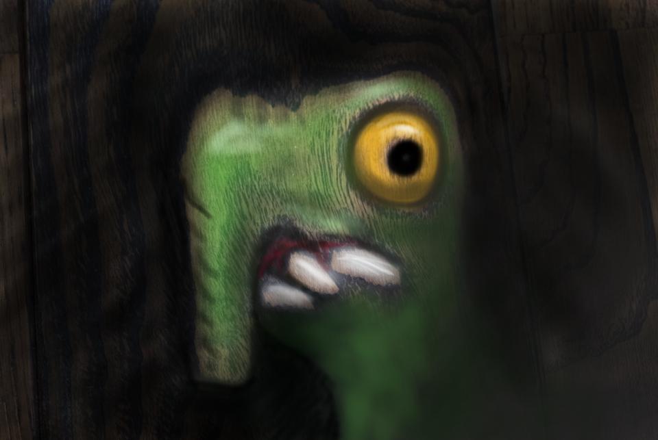 鼻の長い怪物