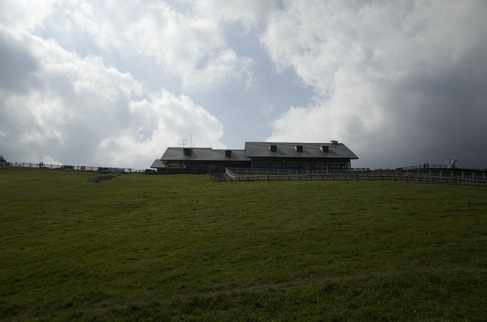 牧場の建物
