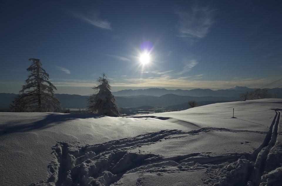 スキー場の風景