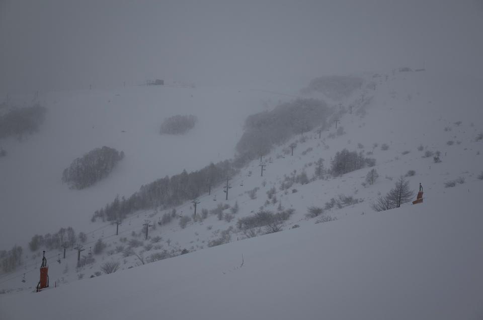雪の車山高原スキー場