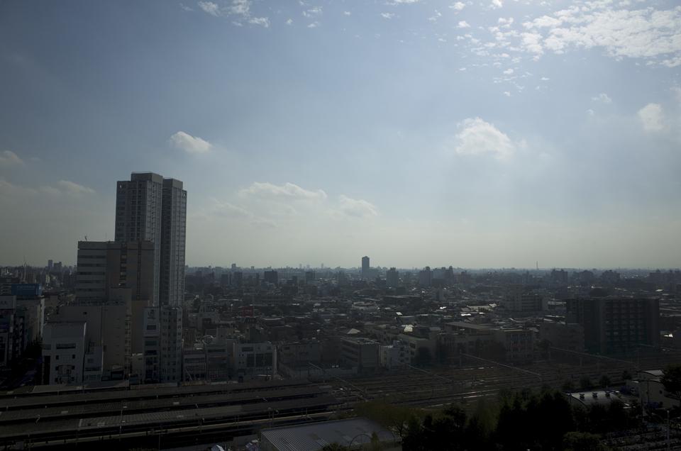 中野サンプラザから見た風景