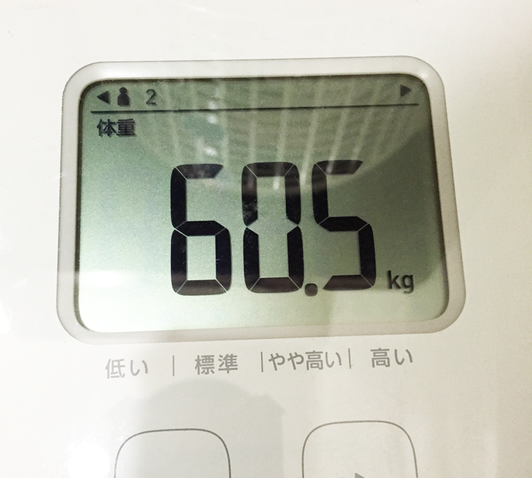 60.5㎏