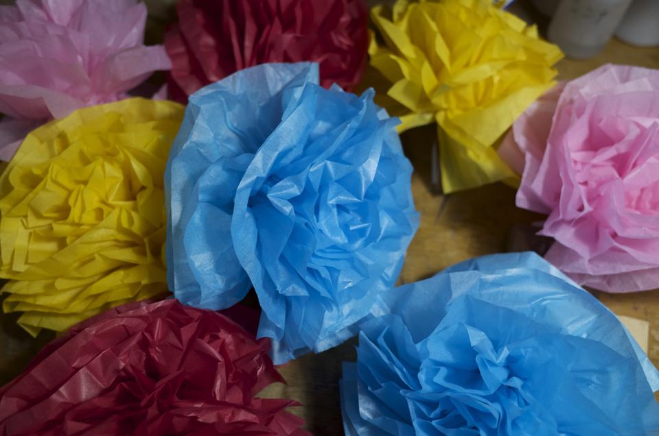 たくさん花を作ってみた