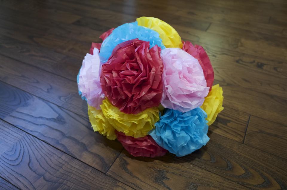 「鼻のための花」完成