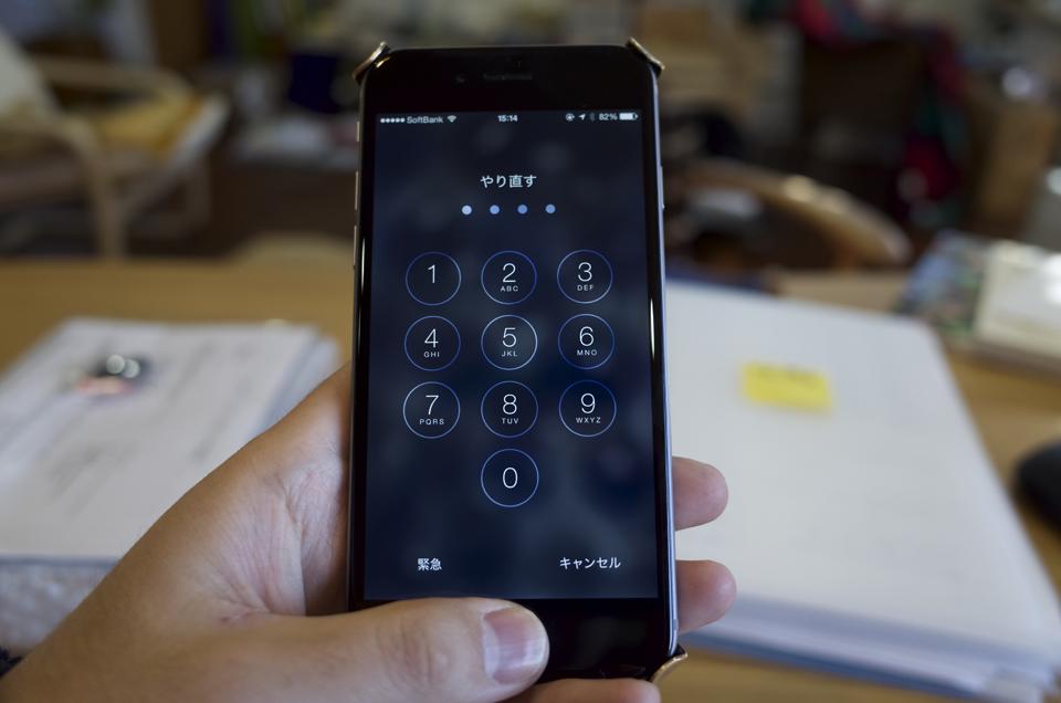 iPhone6 ロック解除できない