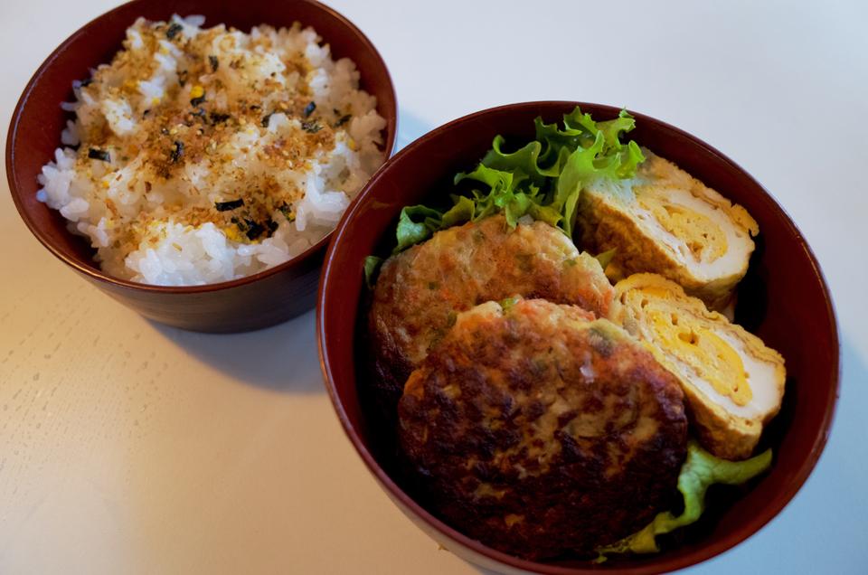 豆腐ハンバーグの弁当