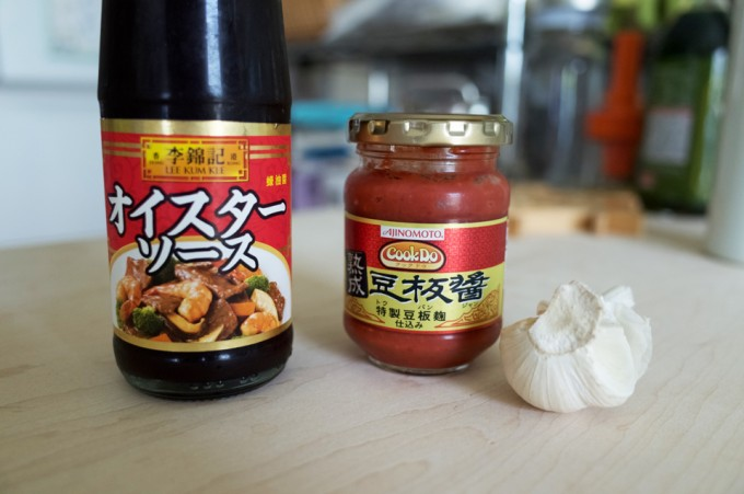中華調味料とにんにく
