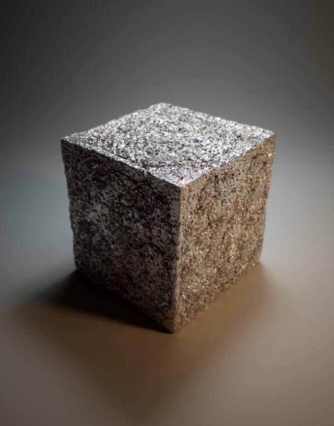 アルミホイルキューブ
