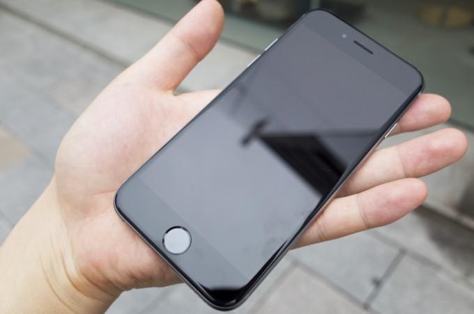 ディスプレイ交換によって完全に直ったiPhone6