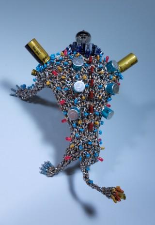 【電子部品ハンダ付けアート】戦闘力高そうな作品が完成したよ!【EP-TUBE102】
