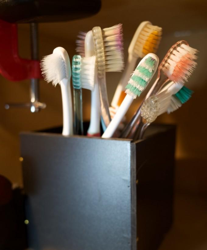 捨てられない歯ブラシ